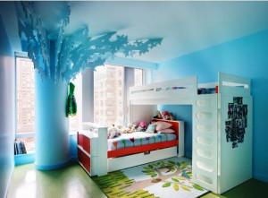 кровать-чердак для детей фото