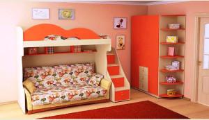 кровать для детской комнаты фото