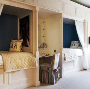 детские комнаты для двоих детей фото