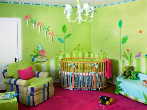 дизайн комнаты для ребенка 1 – 2 лет фото