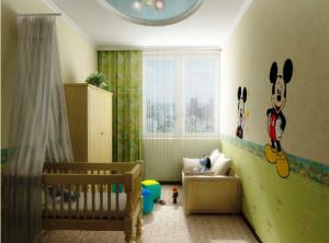 дизайн детской комнаты для ребенка 1 – 2 лет фото