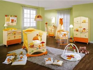 интерьер детской комнаты для ребенка 1 – 2 лет фото
