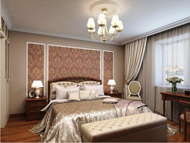 Декор спальной комнаты фото