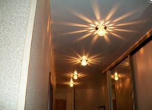 подвесной потолок в прихожей фото