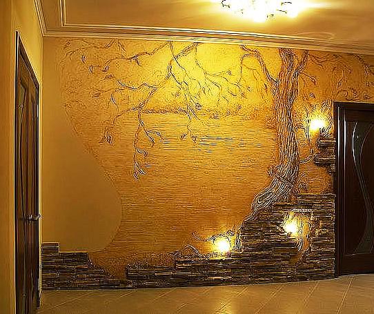 Декор стен саратов