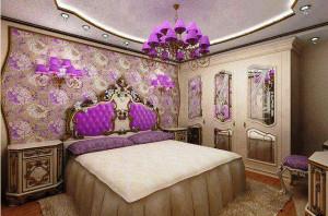 спальная комната в историческом стиле фото
