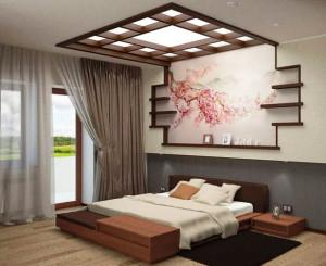 спальная комната в стиле минимализм фото