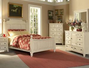 спальня комната в стиле кантри фото