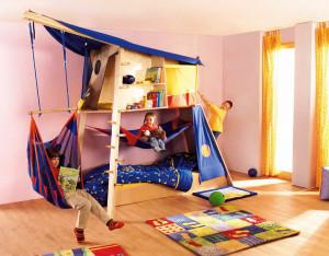 как обустроить детский уголок в квартире фото