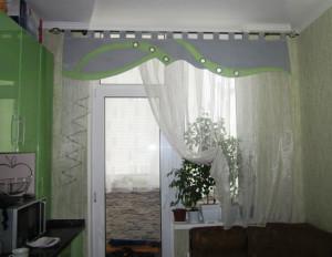 кухонные шторы фото