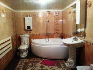 совмещенный с ванной санузел фото