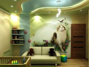 цвета в детской комнате фото