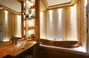 деревянная ванная фото