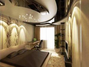 идеи дизайна спальной комнаты фото