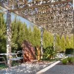 Организация места для отдыха во дворе частного домовладения