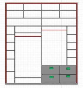 Проект шкафа купе, Как сделать шкаф купе