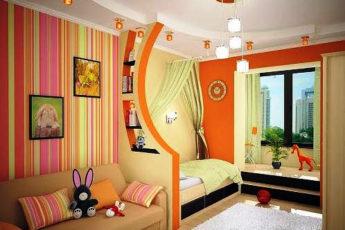 детская комната для двух девочек фото