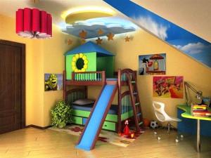 детская комната для дошкольника фото