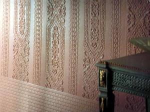 отделка стен линкрустом фото