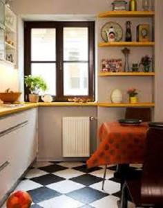 пол на кухне фото