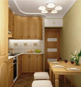 угловая кухня для маленьких кухонь фото