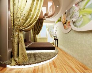 спальная в стиле минимализм фото