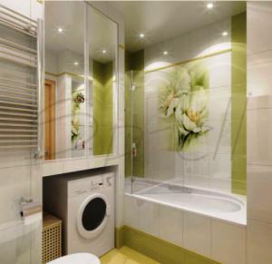 планировка маленькой ванны фото