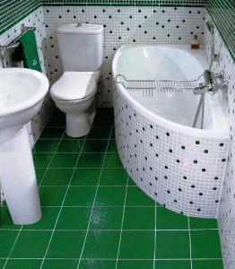 санузел совмещенный с ванной фото