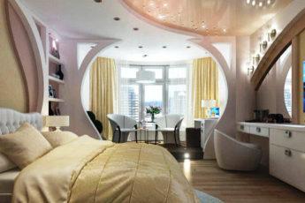 планировка спальной комнаты фото