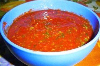 Любимый соус к шашлыку