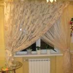 Стильные шторы для кухни